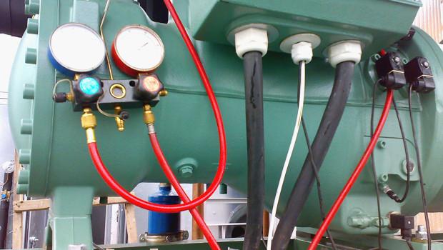 Налаштування гвинтового холодильного компресору системи холодопостачання вентиляції (змонтовано та налагоджено фахівцями ТОВ «Ватіс»)
